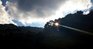 Sunset in Second Doi Suthep Hike