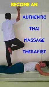 Authentic Thai Massage Pin