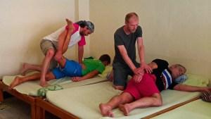 Wat Pho Authentic Thai Massage Positions
