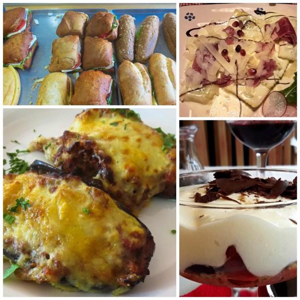 Albanian Food Collage