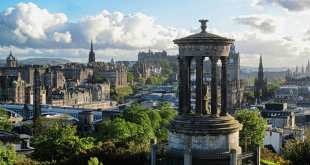 Edinburgh with Dugald Stewart Monument, Free Attractions in Edinburgh