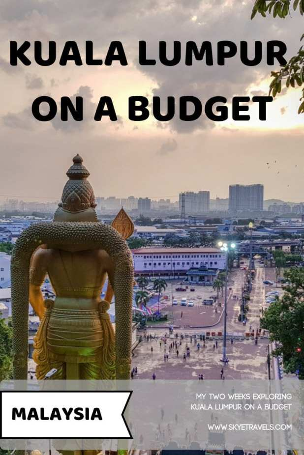 Southeast Asia is a great part of the world to travel to if you\'re on a budget, but Malaysia is an exception. Here\'s how to stick to a budget in KL. #VisitKualaLumpur #Malaysia #BudgetTravel