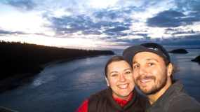 Kristin and I at Deception Pass