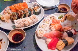 Saburo Sushi Dinner
