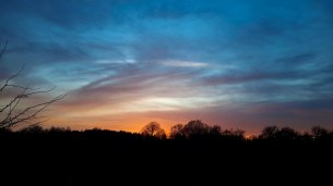 Sunset Over Farm #20
