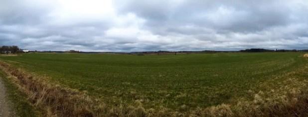 Sjuntorp Fields Panorama