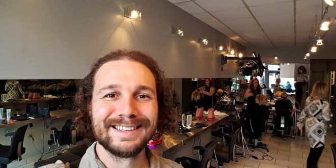 Selfie at Medusa Hair Salon