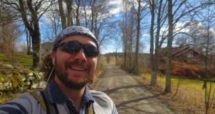 Selfie on Hike in Sjuntorp