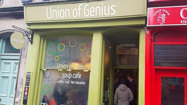 Crowd at Union of Genius