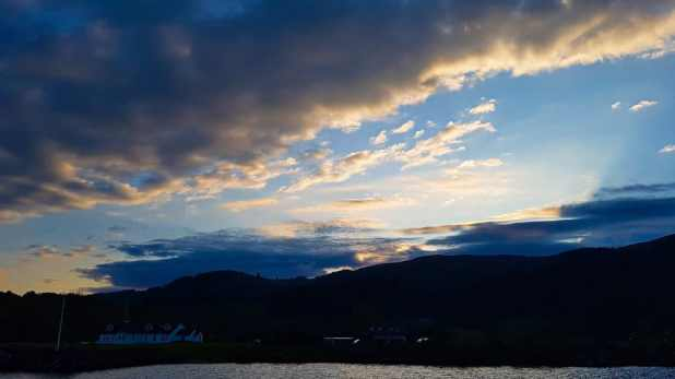 Sunset on Loch Ness
