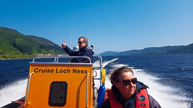 Tour Guide on RIB Cruise