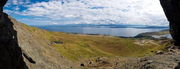 View from the Old Man of Storr