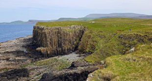 Gold Cave on the Isle of Skye