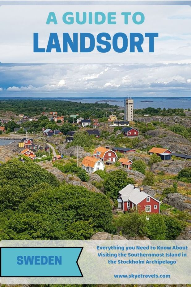 Nothing in the Nordic countries is cheap, but you could get by for about $150 on a two-day trip to Landsort from Stockholm. Worth it? Hell yes! #Landsort #VisitSweden #VisitNynäshamn #Öja #StockholmExcursion #SwedishIsland #Nature #Lighthouse #Sweden #Nordic #NordicCountries