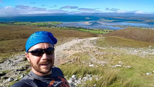 Selfie on Croagh Patrick