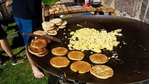 Breakfast Barbecue on Utklippan