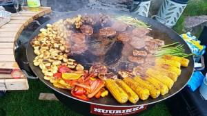 Dinner Barbecue on Utklippan