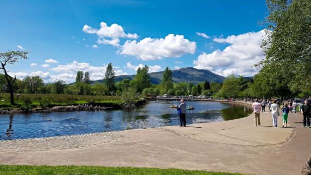 River Teith in Callander