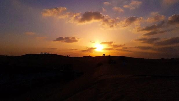 Desert Safari Sunset