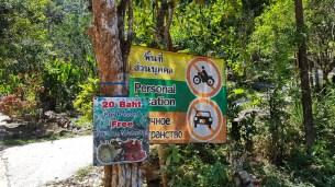 Entrance to Kai Bea Waterfall Village