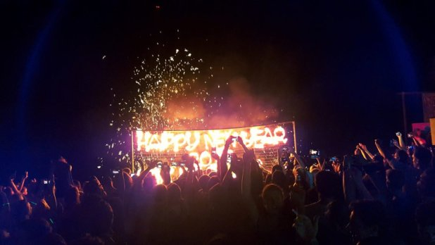 New Year's Celebration on Koh Chang