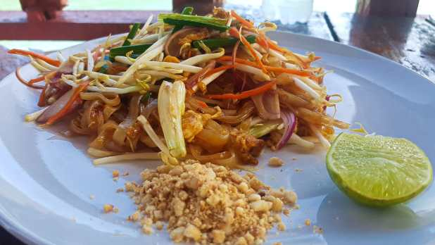 Pad Thai at Chill House