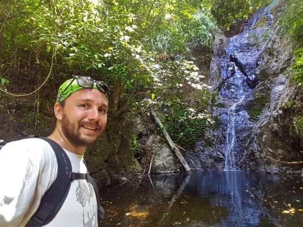 Selfie at Kai Bae Waterfall