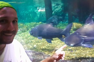 Selfie at Ocean World Bangkok