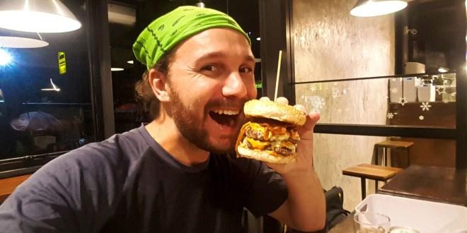 Seflie at Beast Burger (Thai and Western Food)