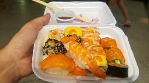 Sushi at Maya Street Food