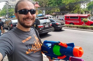 Selfie at Songkran