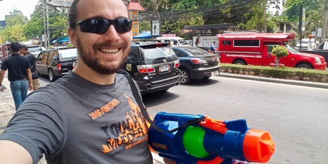Selfie at Songkran