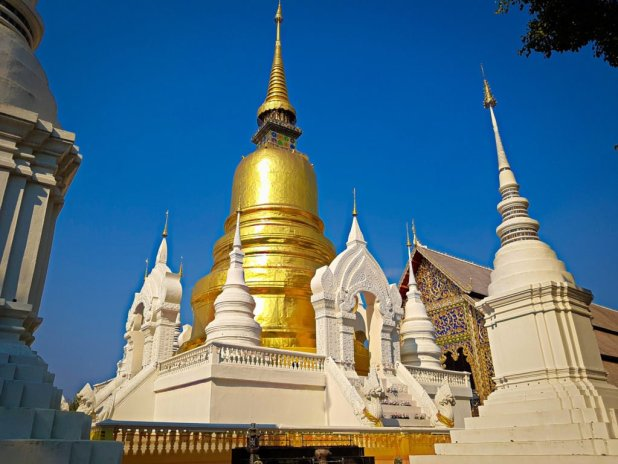 Wat Suan Dok Stupa