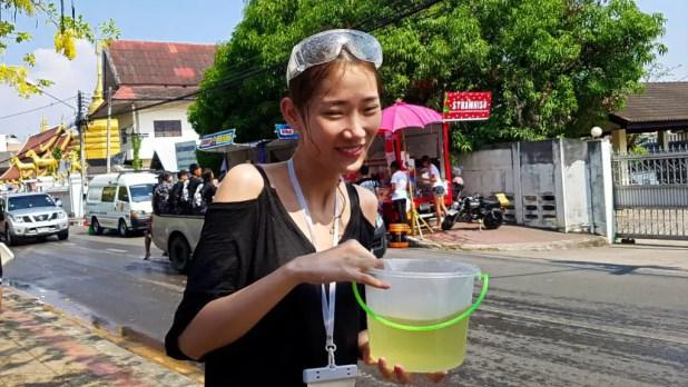 Water Bucket at Songkran