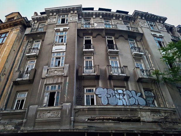 Bucharest Hotel Urban Ruins