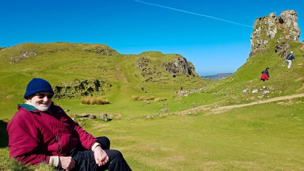Dad at the Fairy Glen #1