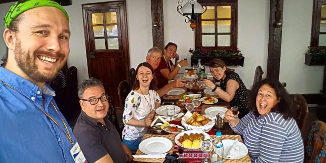 Selfie with Bucharest Food Tour at Vatra