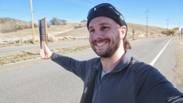 Selfie Hitchhiking in California