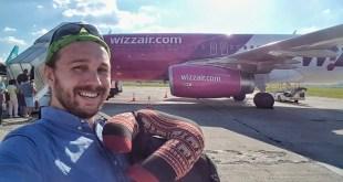 Selfie with Wizz Air