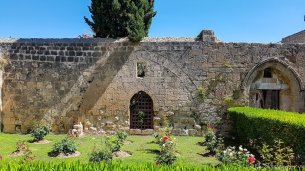 Bellapais Monastery Garden