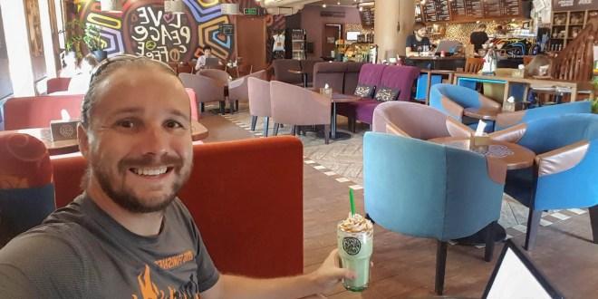 Selfie at Tucano Coffee