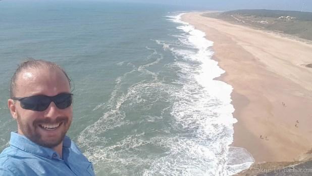 Selfie in Nazare