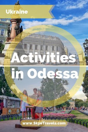 Activities in Odessa, Ukraine