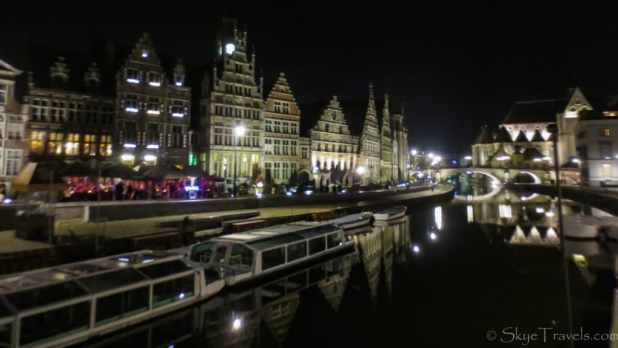 Leie Waterfront at Night