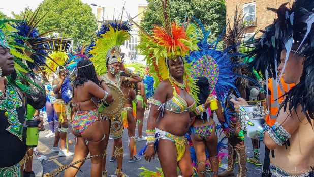 More Dancers at Notting Hill Festival