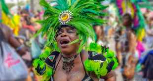 Woman at Notting Hill Carnival