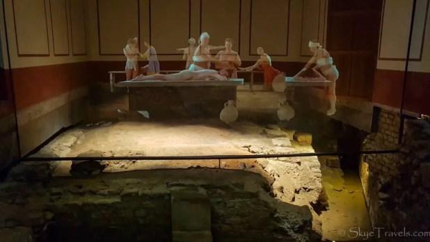 Massage Room at the Roman Baths