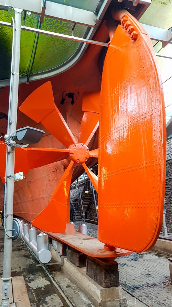 SS Great Britain Propellor
