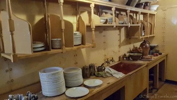 SS Great Britain Kitchen