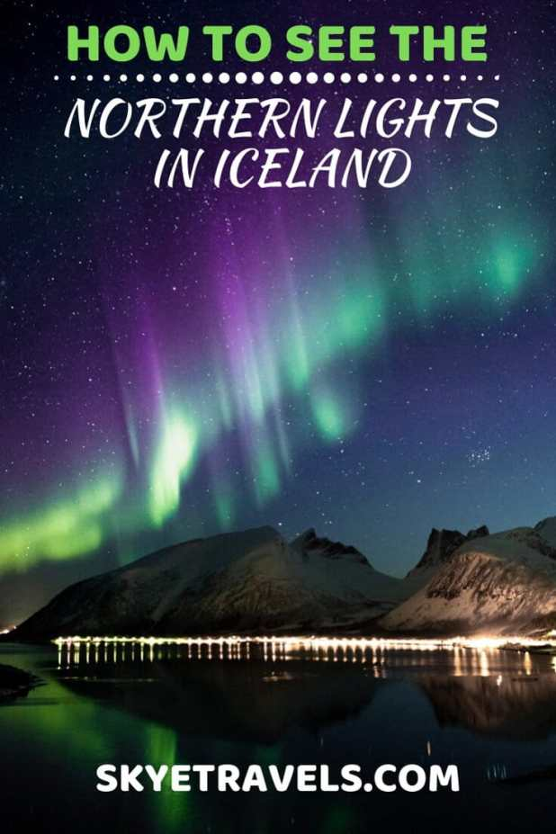 The northern lights were on my bucket list for as long as I can remember. How could I not want to see such raw natural beauty? But how to see them? #NorthernLights #Iceland #ReykjavikSailors #ReykjavikSightseeing #VisitIceland